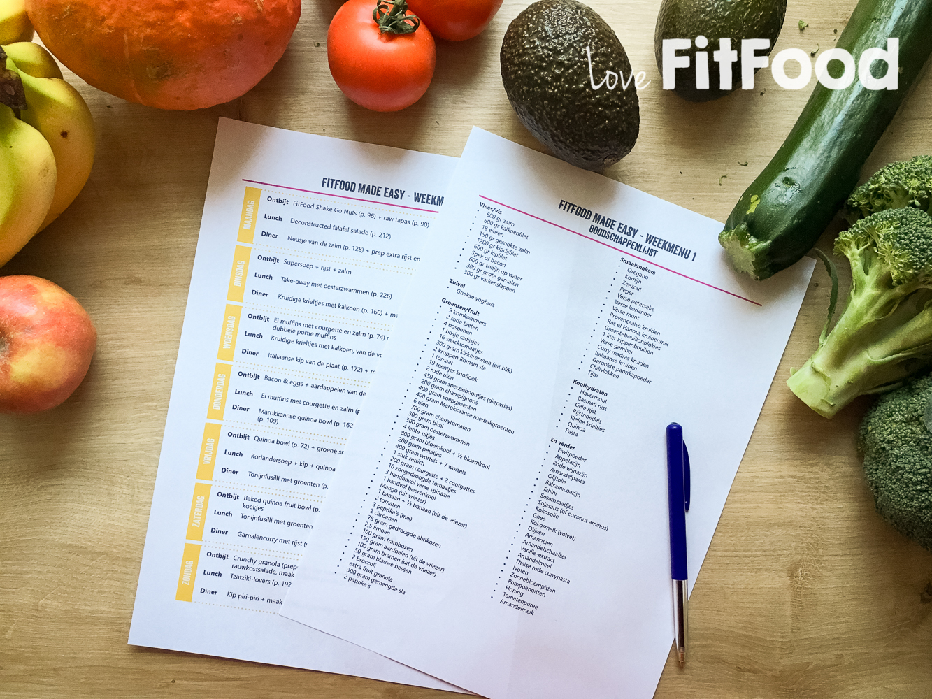 Gratis Downloads FitFood Made Easy Love FitFood