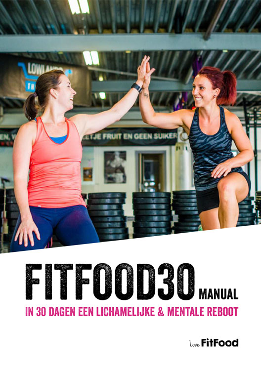 FitFood30 manual cover